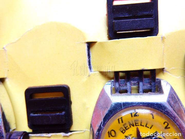 Juguetes antiguos: BLISTER COMPLETO 12 RELOJES DE JUGUETE HEDI. MOTOS Y COCHES AÑOS 70 RELOJ KIOSKO KIOSCO - Foto 5 - 90555885