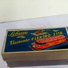 Juguetes antiguos: ANTIGUO SCHUCO VARIANTO ELEKTRO 3114 EN CAJA. Lote 91155490