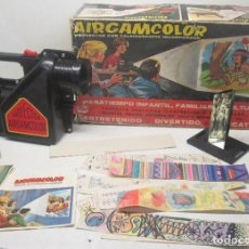 Juguetes antiguos: PROYECTOR CON CALEIDOSCOPIO AIRGAMCOLOR DE AIRGAM. Lote 91656630