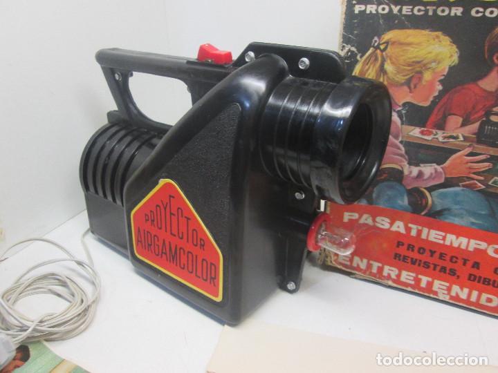 Juguetes antiguos: Proyector con caleidoscopio AIRGAMCOLOR de AIRGAM - Foto 2 - 91656630