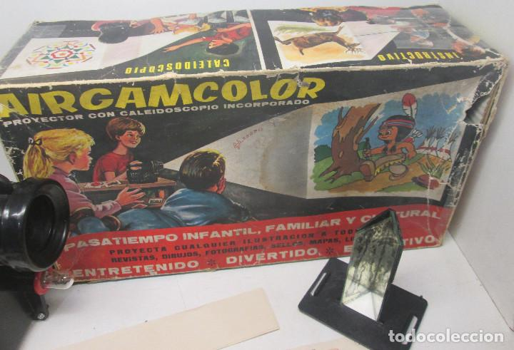 Juguetes antiguos: Proyector con caleidoscopio AIRGAMCOLOR de AIRGAM - Foto 3 - 91656630