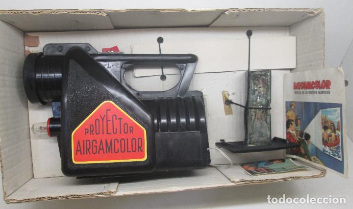 Juguetes antiguos: Proyector con caleidoscopio AIRGAMCOLOR de AIRGAM - Foto 6 - 91656630