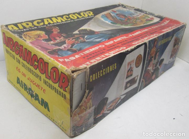 Juguetes antiguos: Proyector con caleidoscopio AIRGAMCOLOR de AIRGAM - Foto 7 - 91656630