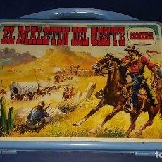 Juguetes antiguos: EL MALETIN DEL OESTE DE COMANSI. Lote 92783585