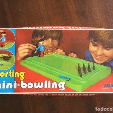 Juguetes antiguos: MINI BOWLING DE AIRGAM. Lote 95008827