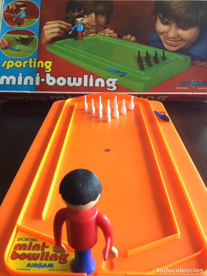Juguetes antiguos: Mini bowling de Airgam - Foto 2 - 95008827
