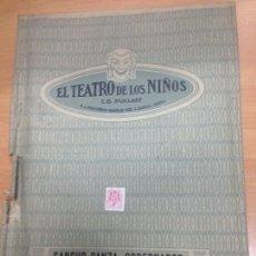 Juguetes antiguos: EL TEATRO DE LOS NIÑOS OBRA COMPLETA SANCHO PANZA GOBERNADOR - EL QUIJOTE DE LA MANCHA SEIX BARRAL. Lote 95209467