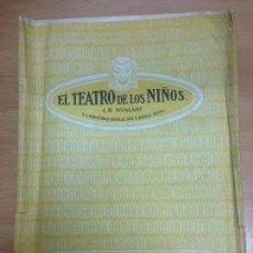 Juguetes antiguos: EL TEATRO DE LOS NIÑOS OBRA COMPLETA EL TESORO DEL RAJA SEIX & BARRAL . Lote 95210519