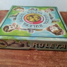 Juguetes antiguos: JUEGO DE LA RULETA JUGUETES BORRAS, MATARÓ. Lote 88782475
