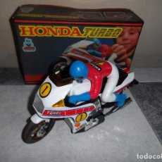 Juguetes antiguos: MOTO HONDA TURBO MARTOYS. Lote 101239906