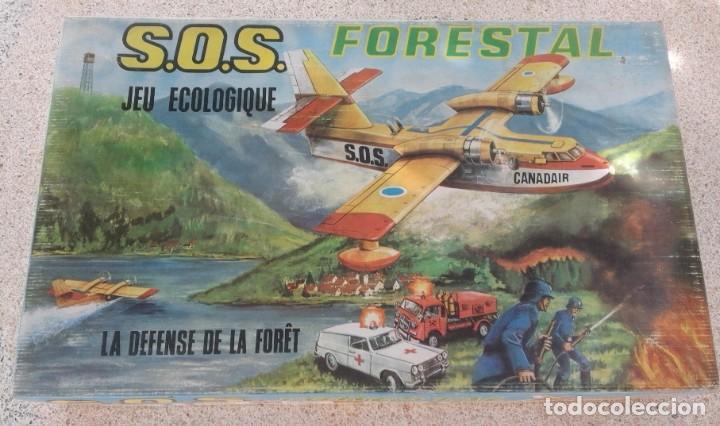 SOS FORESTAL Nº8 AÑOS 70 - IND. JUGATI - FUNCIONA CORRECTAMENTE - CAJA ORIGINAL 67 X 40,5 X 12 CM (Juguetes - Marcas Clasicas - Otras Marcas)