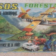 Juguetes antiguos - SOS FORESTAL Nº8 AÑOS 70 - IND. JUGATI - FUNCIONA CORRECTAMENTE - CAJA ORIGINAL 67 X 40,5 X 12 CM - 95684683