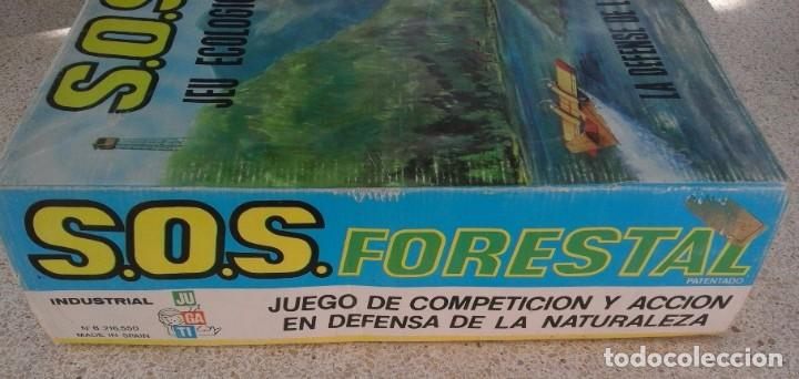 Juguetes antiguos: SOS FORESTAL Nº8 AÑOS 70 - IND. JUGATI - FUNCIONA CORRECTAMENTE - CAJA ORIGINAL 67 X 40,5 X 12 CM - Foto 3 - 95684683