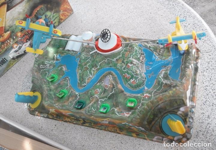 Juguetes antiguos: SOS FORESTAL Nº8 AÑOS 70 - IND. JUGATI - FUNCIONA CORRECTAMENTE - CAJA ORIGINAL 67 X 40,5 X 12 CM - Foto 11 - 95684683
