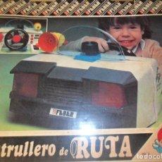 Juguetes antiguos: PATRULLERO DE RUTA, APRENDE A CONDUCIR - FEBER - NUEVO SIN USO -. Lote 95983219