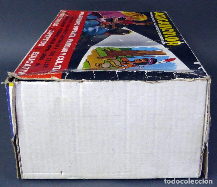 Juguetes antiguos: Airgamcolor Airgam Proyector cine con caleidoscopio caja años 60 Funciona - Foto 4 - 96240971