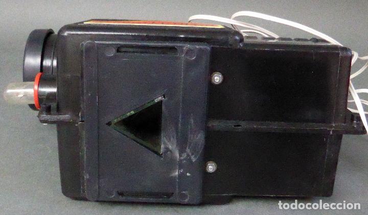 Juguetes antiguos: Airgamcolor Airgam Proyector cine con caleidoscopio caja años 60 Funciona - Foto 9 - 96240971