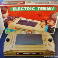 Juguetes antiguos: ELECTRIC TENNIS DE VALTOY. REF 700. FUNCIONANDO. CAJA ORIGINAL. Lote 97385799