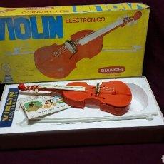 Jouets Anciens: VIOLIN ELECTRONICO BIANCHI. Lote 98155475