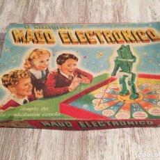 Juguetes antiguos: JUEGO MARAVILLOSO MAGO ELECTRÓNICO. Lote 98220135