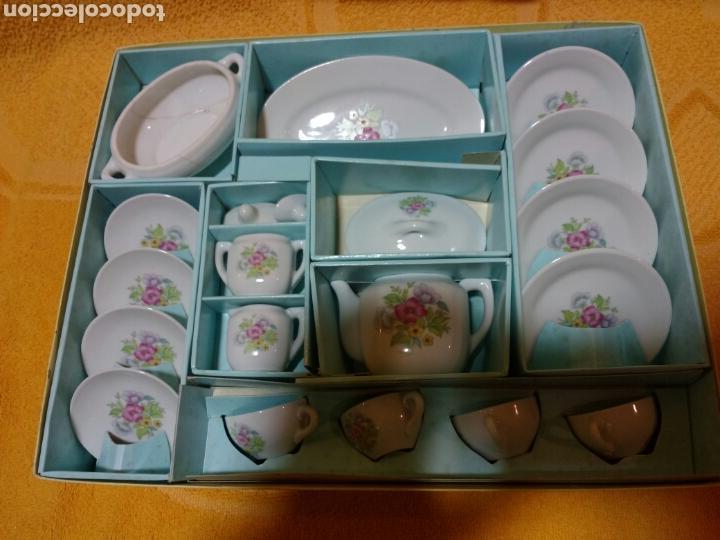 Antiguo Juego De Te Porcelana China Comprar Juguetes Antiguos De