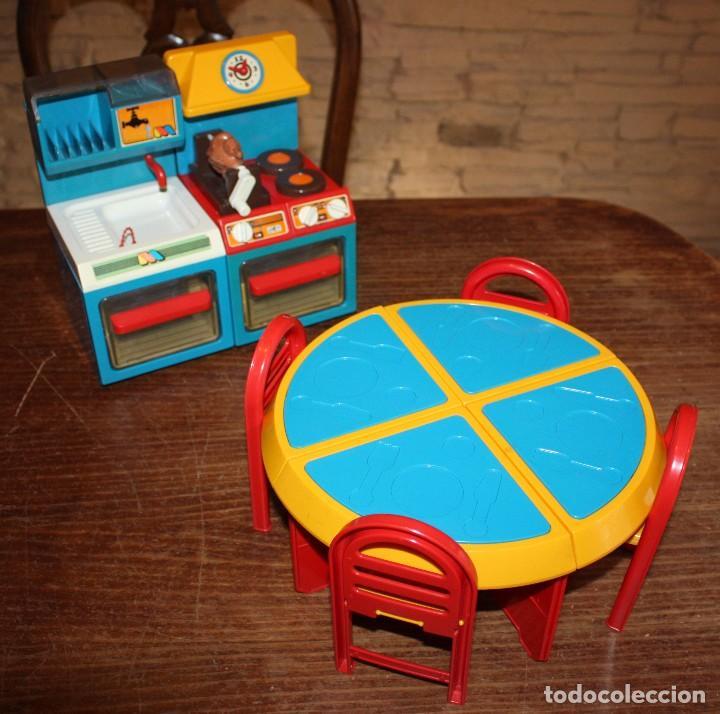 antigua cocina molto: 2 modulos + 4 sillas + me - Comprar Juguetes ...