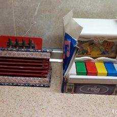 Juguetes antiguos: JUGUETES MUSICALES REIG S.A ( IBI ) PIANO ANIMADO Y ACORDEON DE CLAUDIO REIG * FUNCIONANDO *. Lote 99864595