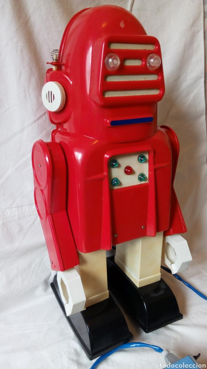 Juguetes antiguos: Robotino. Jefe. Juguetes Espaciales. Industrias Saludes. Valencia. - Foto 2 - 100289594