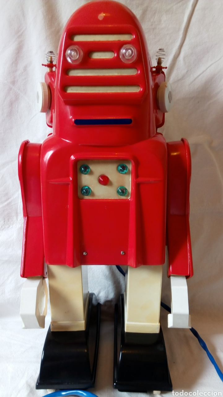 Juguetes antiguos: Robotino. Jefe. Juguetes Espaciales. Industrias Saludes. Valencia. - Foto 4 - 100289594