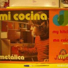 Juguetes antiguos: MI COCINA DE JUGUETES JUYCO, REF 903, METALICA, AÑOS 70, NUEVA.. Lote 101144595