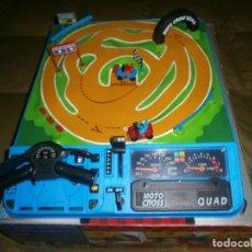 Juguetes antiguos: AUTO CROSS MATTEL TURBO MOTOCROSS QUAD. Lote 101148847