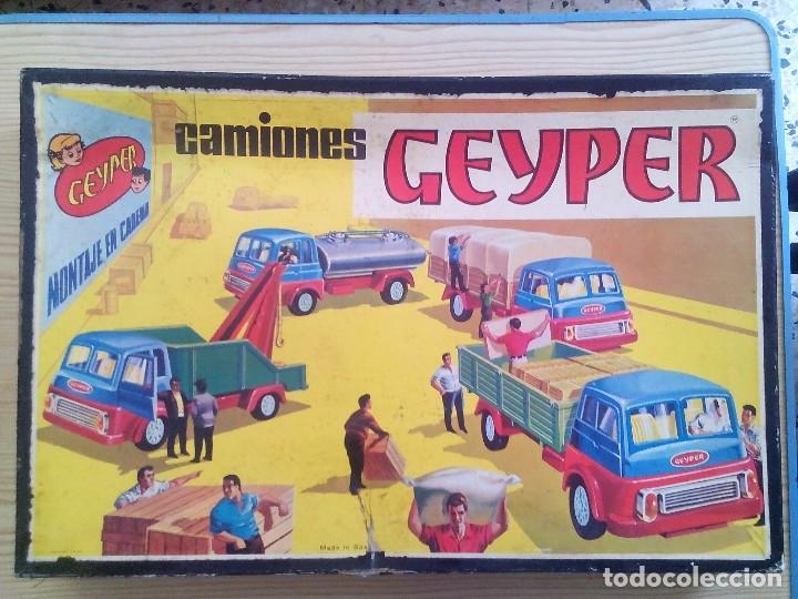 Juguetes antiguos: Camiones Geyper 504 Casi Completa - Foto 2 - 101313819