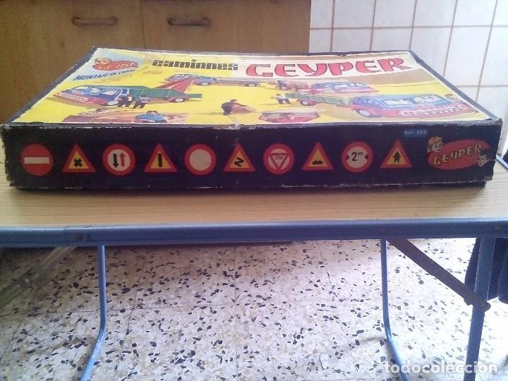 Juguetes antiguos: Camiones Geyper 504 Casi Completa - Foto 3 - 101313819