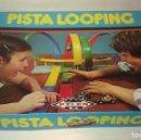 Juguetes antiguos: ANTIGUO JUEGO PISTA LOOPING DE PILEN EN GRAN ESTADO GENERAL CON SU COCHE METEORO - CASI COMPLETO -. Lote 101706951
