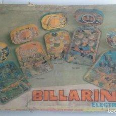 Juguetes antiguos: PINBALL/BILLARINES RIMA WESTERN/CON TARA.. Lote 102001559