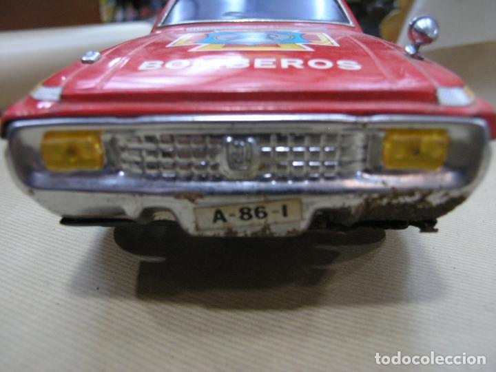Juguetes antiguos: COCHE JEFE BOMBEROS SALVA OBSTÁCULOS EGE - Foto 3 - 102270667