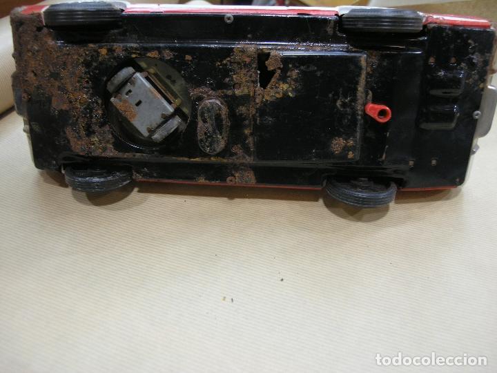 Juguetes antiguos: COCHE JEFE BOMBEROS SALVA OBSTÁCULOS EGE - Foto 9 - 102270667