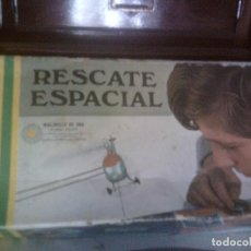 Juguetes antiguos: RESCATE ESPACIAL DE CONGOST, AÑOS 60, PREMIO MOLINILLO DE ORO AL MEJOR JUGUETE. EN CAJA DE ORIGEN. Lote 103350367