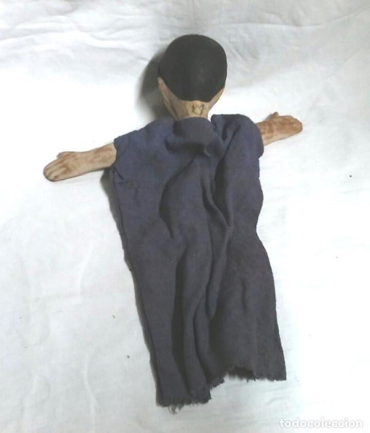 Juguetes antiguos: Guiñol Titere Marioneta caucho años 60. Med 26 cm - Foto 2 - 103366935