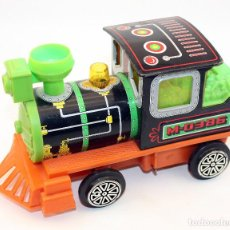 Juguetes antiguos: LOCOMOTORA METALICA OBERTOYS - AÑOS 80 - MADE IN SPAIN. Lote 104737339