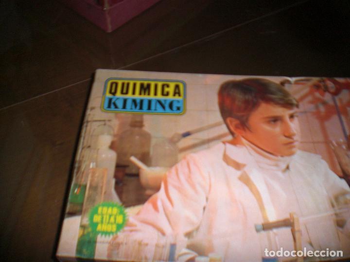 Juguetes antiguos: JUEGO DE QUIMICA KIMING DE POCH , JUGUETE ANTIGUO, JUEGO DE QUIMICA - Foto 3 - 105689419
