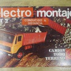 Juguetes antiguos: CAMION MERCEDES CON CAJA ORIGINAL ELECTRO MONTAJE DE FROBA. Lote 106009963