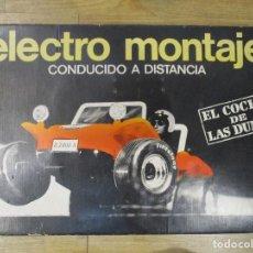 Juguetes antiguos: BUGGY VOLSWAGEN CON CAJA ORIGINAL ELECTRO MONTAJE DE FROBA. Lote 106010075