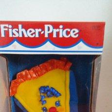 Juguetes antiguos: TROZO DE PASTEL BLANDI SONIDO (13 CM) FISHER PRICE 1998.NUEVO EN CAJA.. Lote 106157227