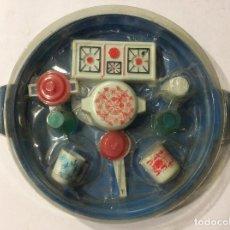 Juguetes antiguos: JUEGO DE COCINA ALUM AÑOS 70. Lote 106986971