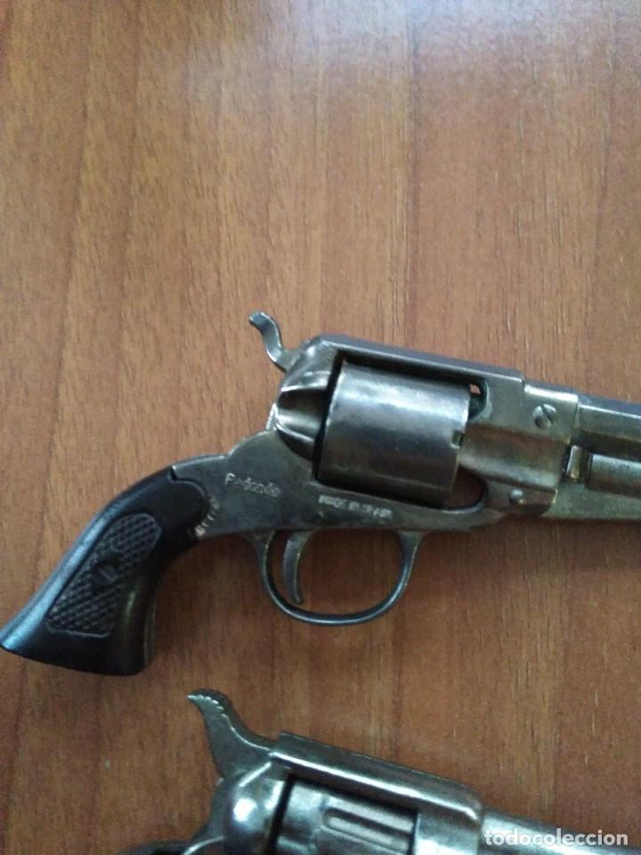 Juguetes antiguos: Lote de antiguas pistolas detonadoras de juguete de la marca redondo - Foto 9 - 108450567