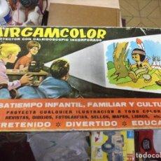 Juguetes antiguos: AIRGAM - AIRGAMCOLOR .POYECTOR CON CALEIDOSCOPIO.AÑOS 60 MADE IN SPAIN.. Lote 108700635