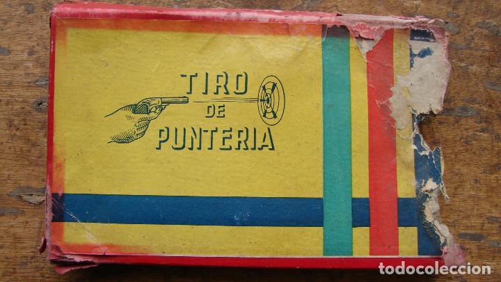 Juguetes antiguos: ANTIGUO TIRO DE PUNTERÍA DE PISTOLA CON TAPÓN - JEFE - Foto 2 - 109050759