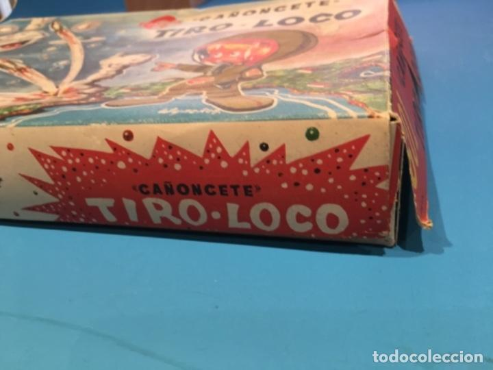 Juguetes antiguos: CAÑONCETE TIRO LOCO CONGOST - Foto 2 - 109073183