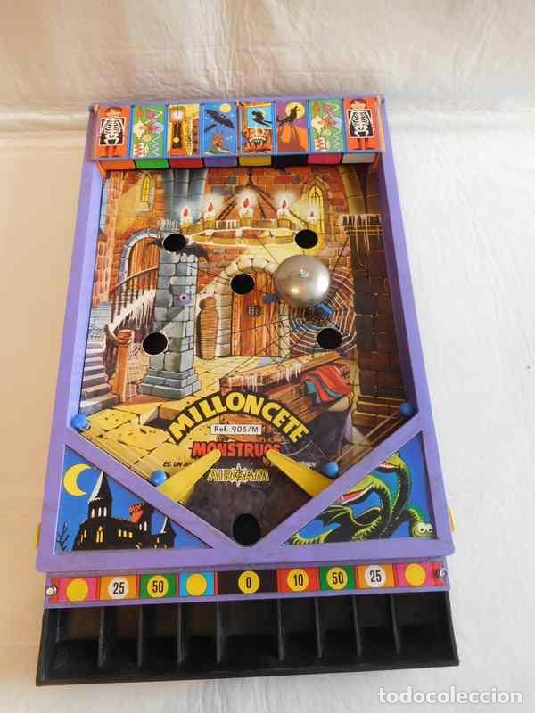 Juguetes antiguos: M69 Milloncete Montruos del Castillo de Airgam. Ref 905/M. Años 70. Una joya. Monstruos airgam. - Foto 2 - 109351295